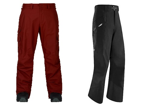 Shell Ski Pants vs Insulated Ski Pants