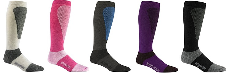 Wigwam Men's Snow Sirocco Knee-High Performance Ski Socks