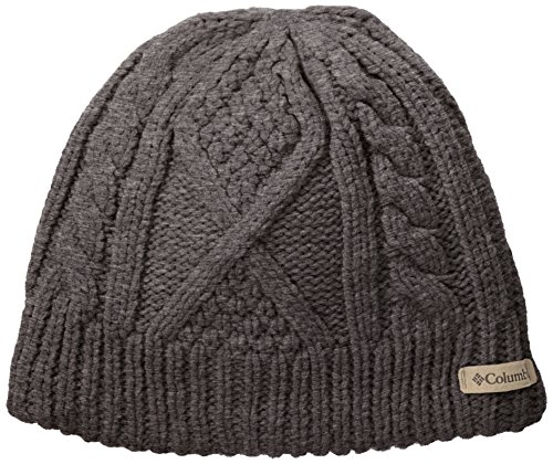 37b43b88669 Columbia s Women s Cabled Cutie Beanie has a trendy