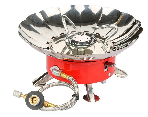 Etekcity E-gear Portable Collapsible Windproof Backpacking Gas Stove