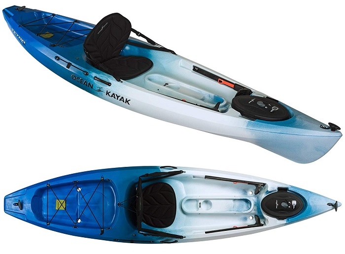 Ocean Kayak Tetra Recreational Sit-On-Top Kayak