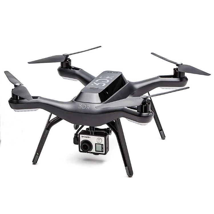 3DR Solo Quadcopter drone with gopro mount