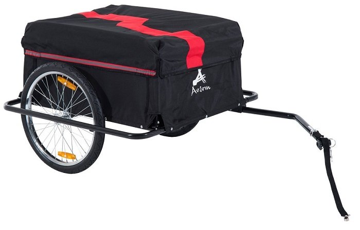 Aosom Elite II Bike Cargo Trailer