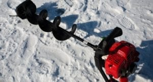 ice fishing augers