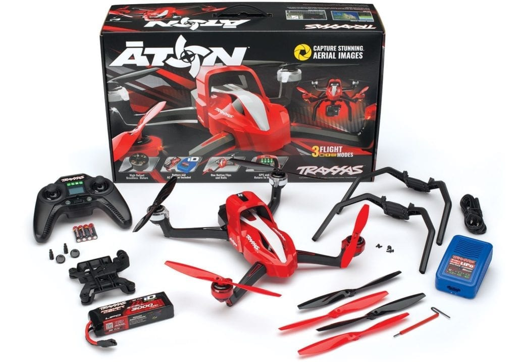 Traxxas-Aton-Plus-Quadcopter best drones for gopro