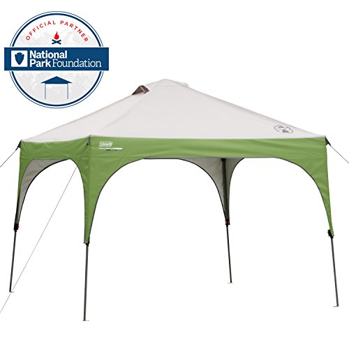 #1 Coleman 10 x 10 Instant Sun Shelter  sc 1 st  Outside Pursuits & The 5 Best Pop Up Canopies Reviewed For 2018 | Outside Pursuits