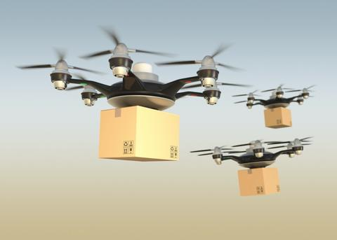 Drones for shipping