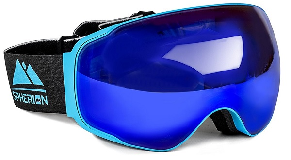 Spherion Gear Snowboard Goggles