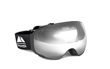 Spherion-best-snowboard-Goggles-gray-Editors-Choice