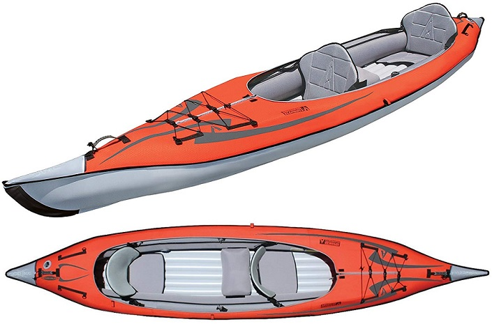 ADVANCED ELEMENTS AE-1007-R AdvancedFrame Convertible Inflatable Kayak