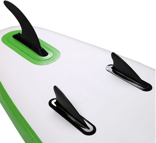 Beginner paddle board Fin Setup