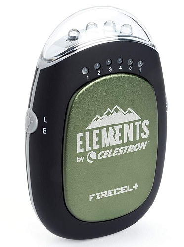 Celestron FireCel Plus - Hand Warmer-Charger-Flashlight