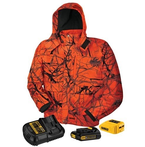 DEWALT DCHJ063C1-XL Blaze Camo Heated Jacket
