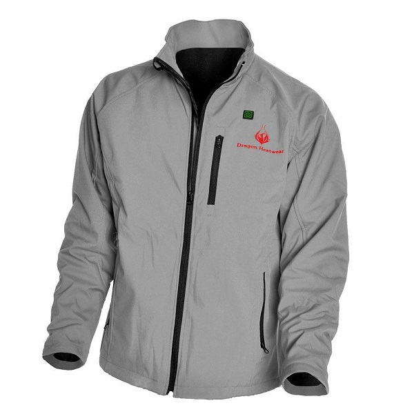 Dragon Heatwear Mens Wyvern 3-Zone Heated Jacket