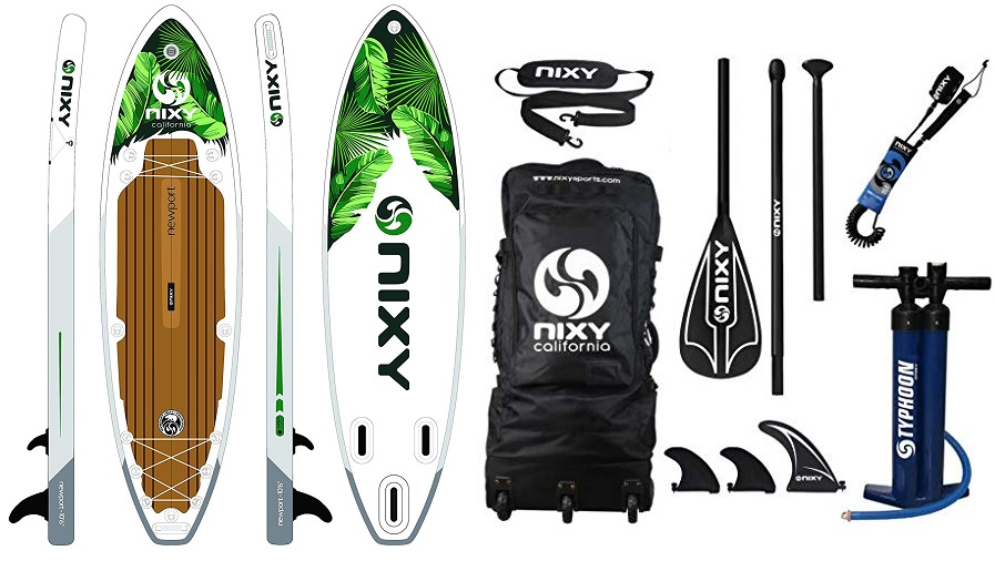 NIXY Newport SUP Inflatable Stand Up Paddle Board