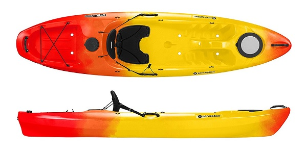 Perception R15 Pescadors 100 Beginner Kayak