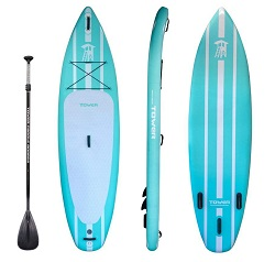 TOWER Adventurer Inflatable Stand Up Paddle Board