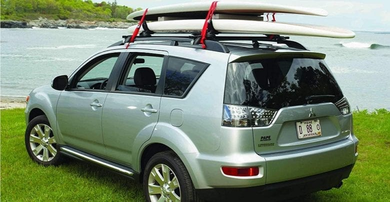 Kayak Rack Set of One Roof Rack Universal J Bar Racks Cross Bars Folding Car Rack Kayak Carrier For Canoe Surf Board Car SUV Trunk On Roof Top Mount Crossbar