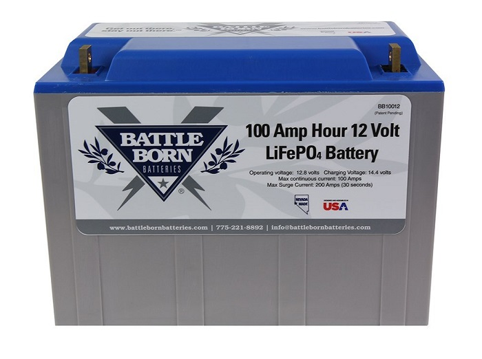 Battle Born LiFePO4 12V Deep Cycle RV Battery