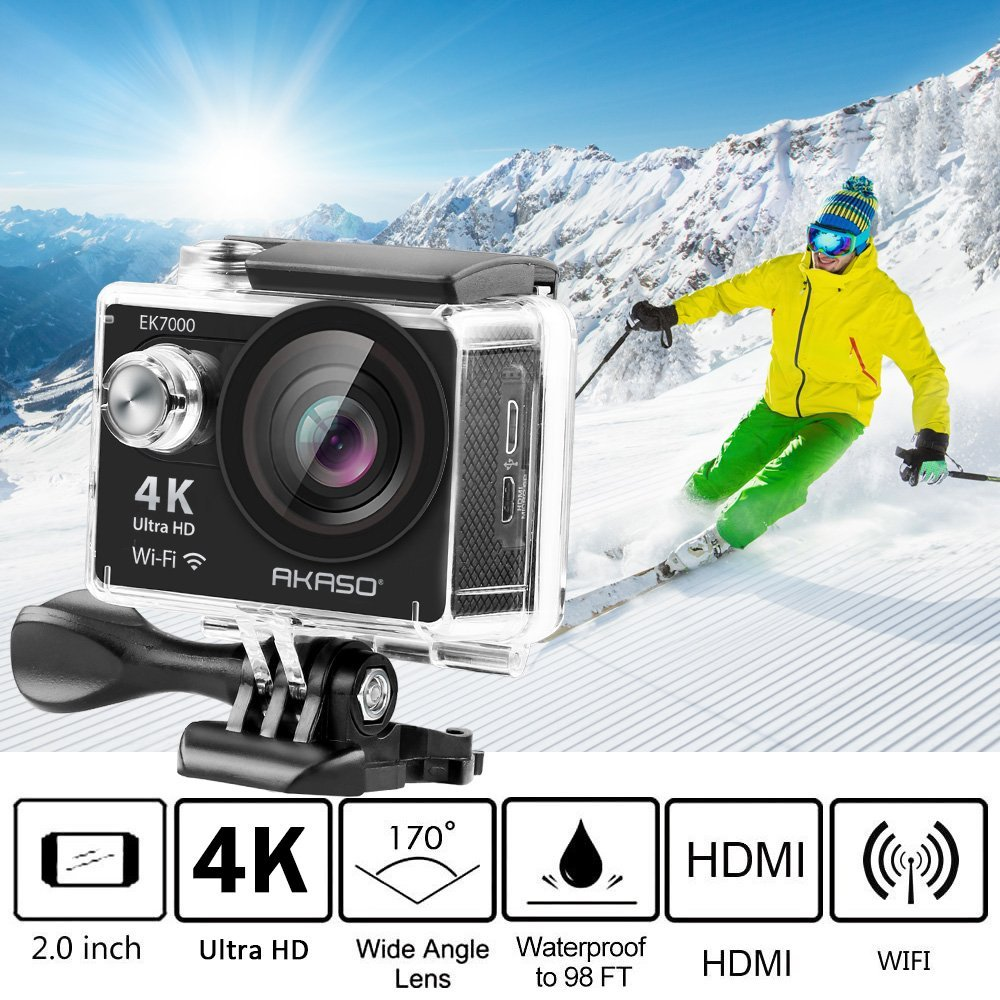 top 7 best budget gopro alternative action cameras 2019. Black Bedroom Furniture Sets. Home Design Ideas