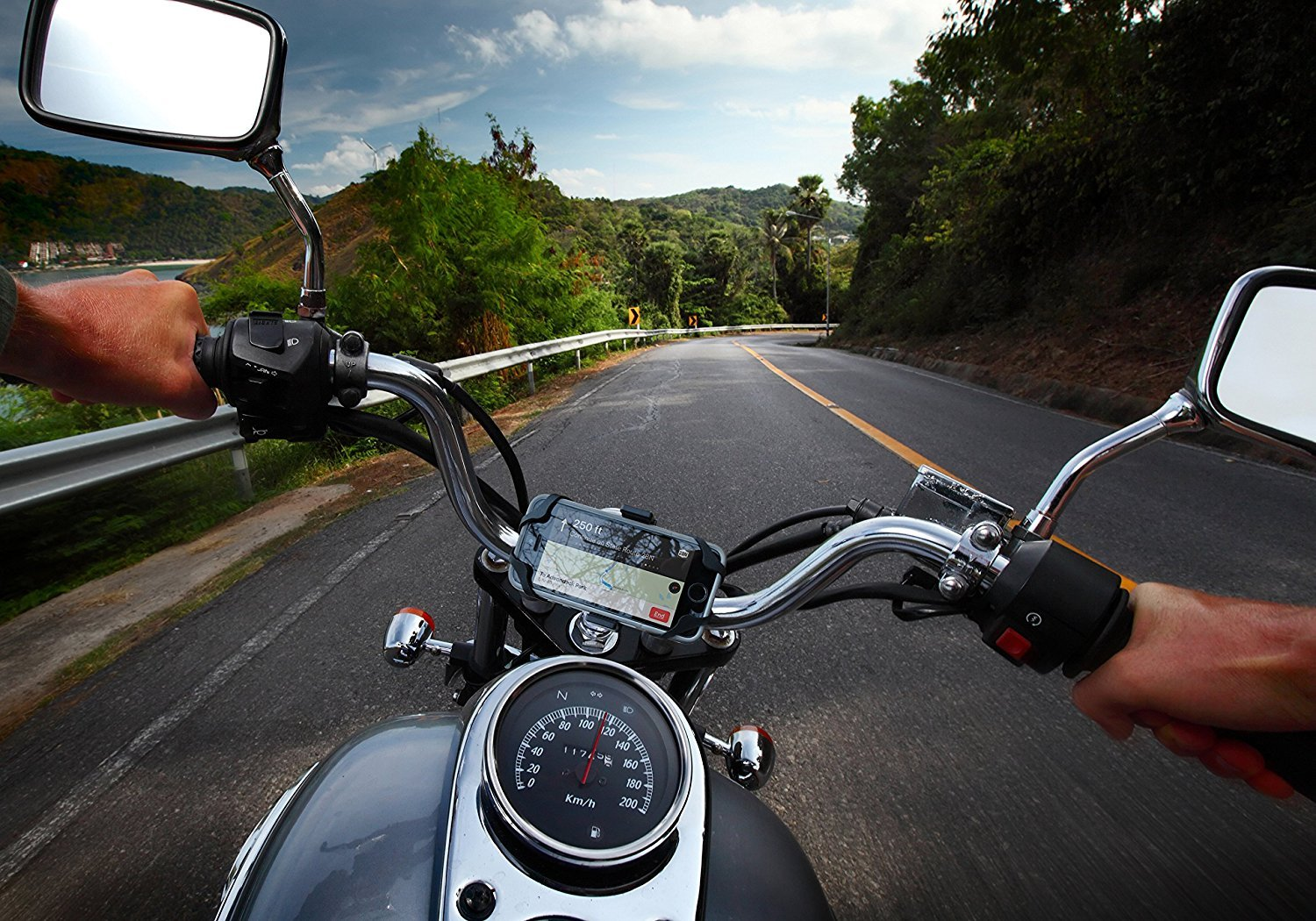 The 5 Best Motorcycle Phone Mounts - [2019 Reviews