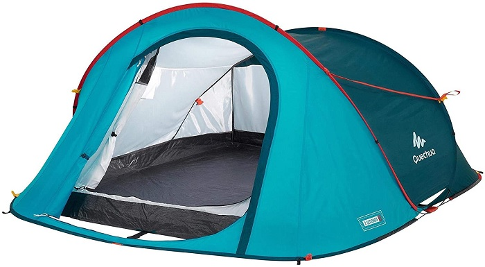 Quechua by Decathlon 3-Person pop up Camping Tent