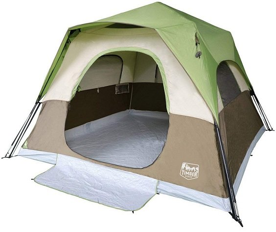 Timber Ridge 6-Person Instant Cabin Tent