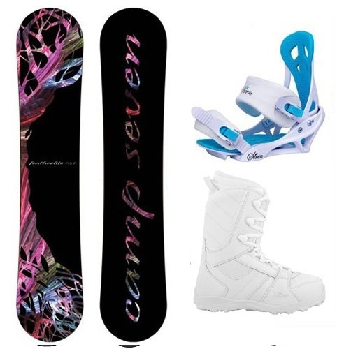 Camp Seven Featherlite Women's Complete Snowboard Package