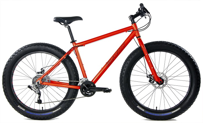 Gravity Bullseye Monster Aluminum Fat Bike