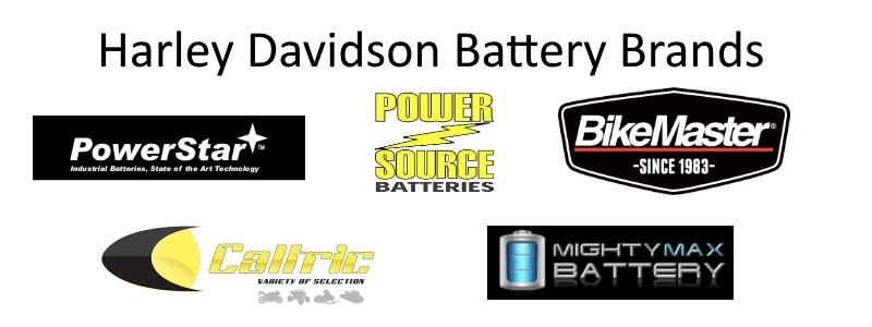 Harley Davidson Battery Brands