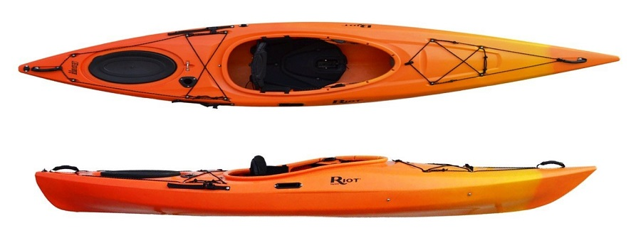 Riot Kayaks Edge LV Flatwater Day Touring Kayak