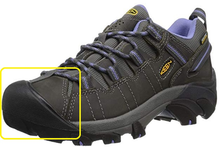 61365009ebde Toe Cap on Womens Hiking Shoes Toe Cap on KEEN Women s ...