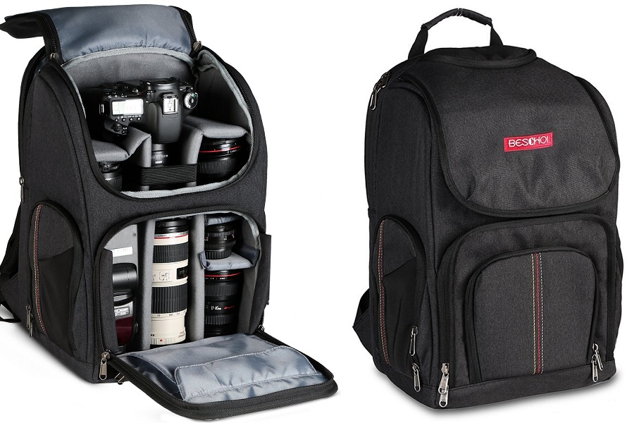 Beschoi Waterproof Camera Backpack