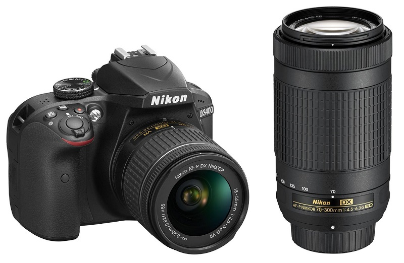 Nikon D3400 DSLR Camera With Lenses