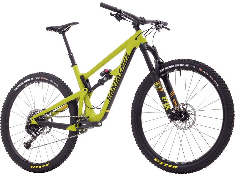 Santa Cruz Bicycles Hightower LT Carbon CC 29 X01 Eagle Enduro Mountain Bike