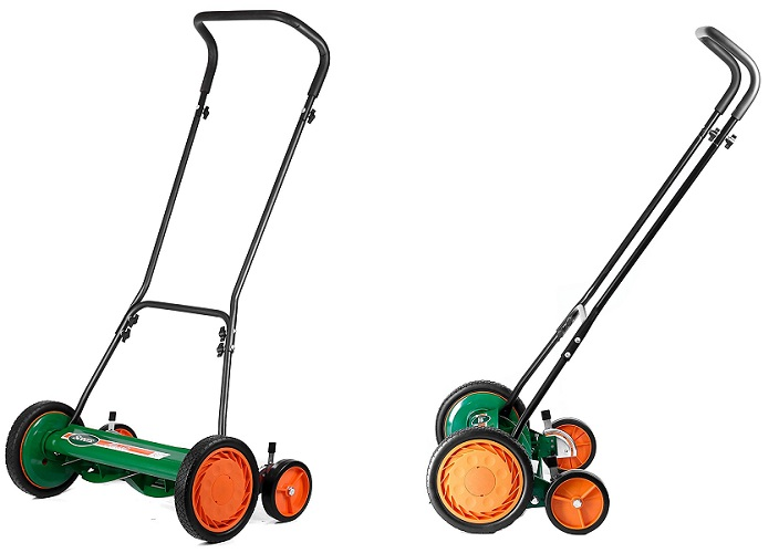 4 Scotts Clic Push Reel Lawn Mower