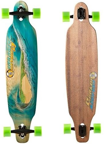 Sector 9 Blue Wave Lookout dropthrough Complete Longboard