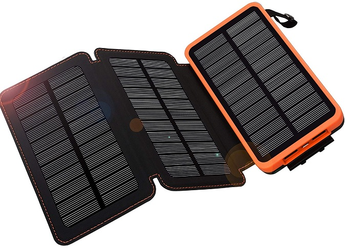 WBPINE Solar Charger Power Bank