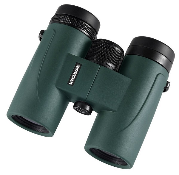 Wingspan Optics GoHawk HD 8X32 Compact Binoculars for Bird Watching