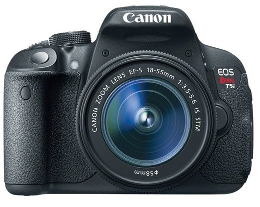 Canon EOS Rebel T5i DSLR Camera