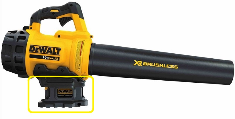 DEWALT Lithium Ion Battery Leaf Blower