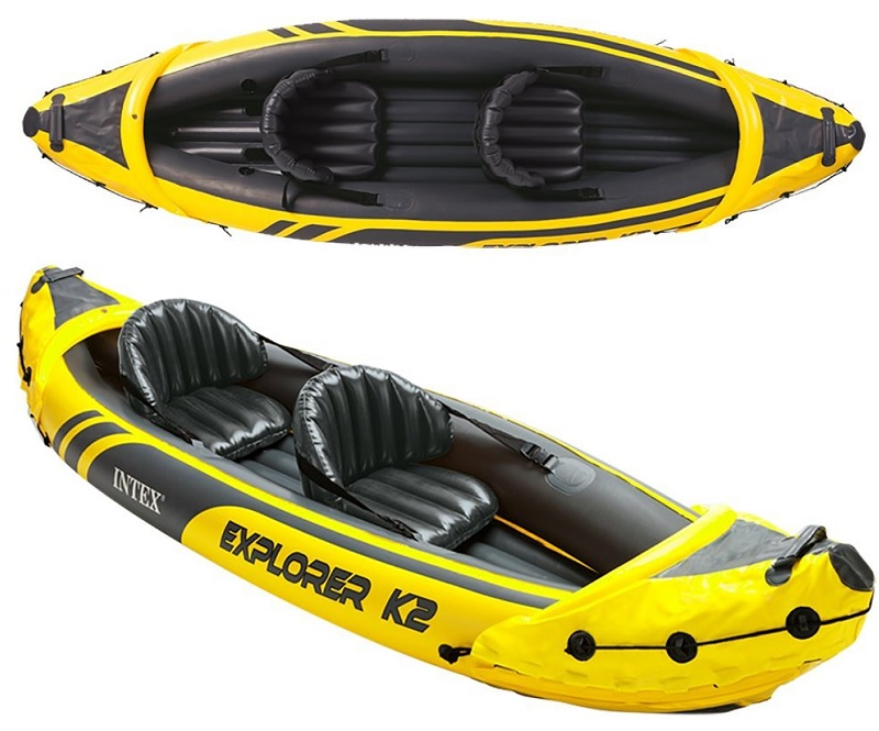 Intex Explorer K2 Kayak 2-Person Inflatable Kayak