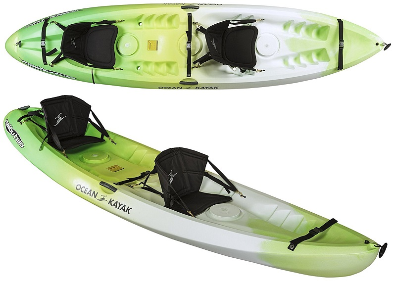 Ocean Kayak 12-Feet Malibu Two Tandem Sit-On-Top