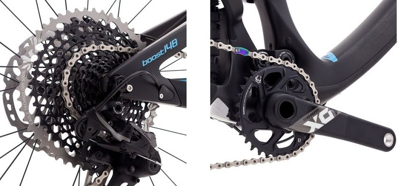 Starter Mountain Bike Drivetrain