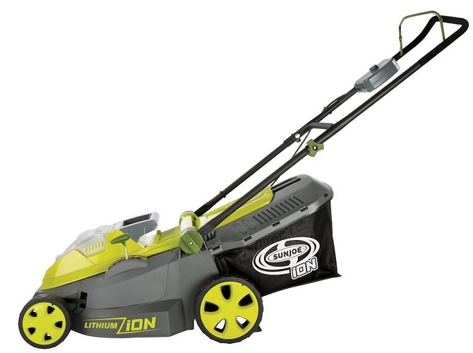 Sun Joe 40V Cordless Battery Lawn Mower