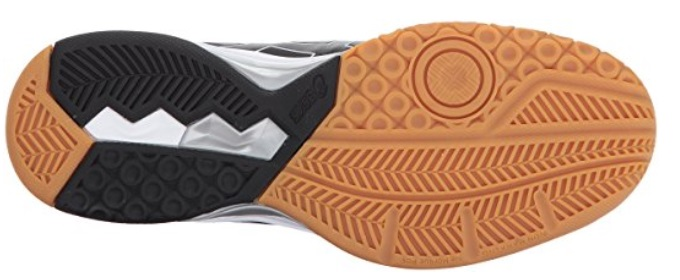 Volleyball shoe sole