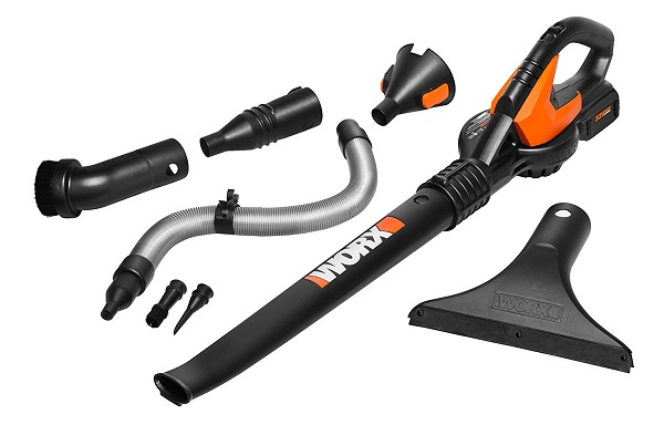 WORX AIR Multi-Purpose battery leaf Blower