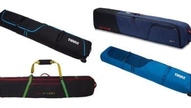 best ski and snowboard travel bags