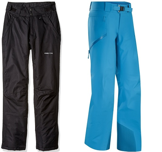 Insulated Ski Pants vs Shell Ski Pants