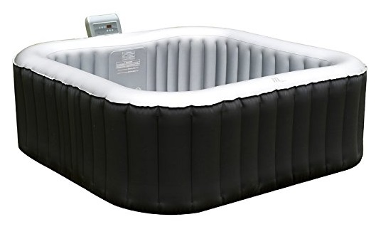 M-SPA Lite Alpine Square Relaxation and Hydrotherapy Outdoor Spa
